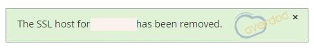 غیر فعال شدن ssl